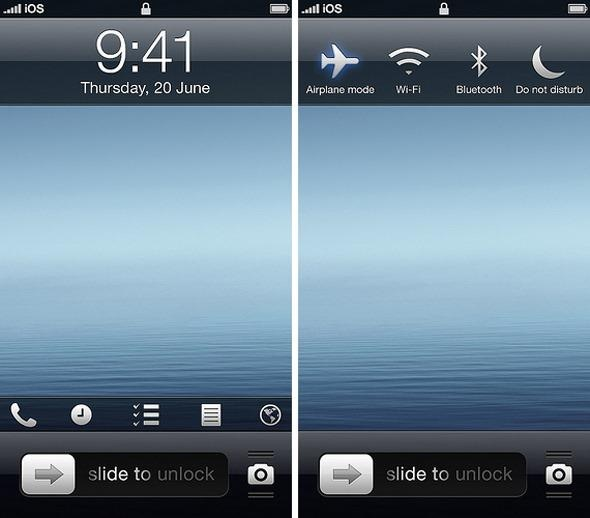 iOS 7 Concept Displays Exciting New Features To The UI