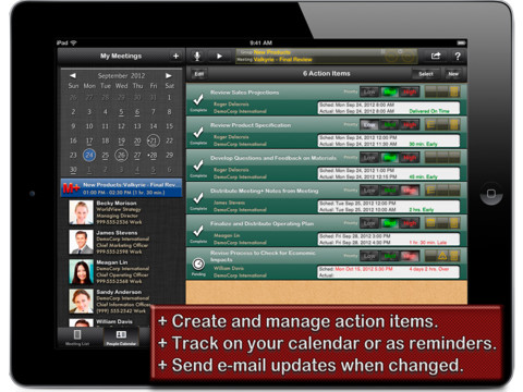 Meeting+ ipad app