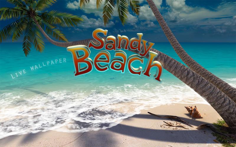 Sandy Beach 3D Mac App Review: A Soothing Seaside Wallpaper