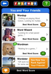Word Colors Free iPhone Game