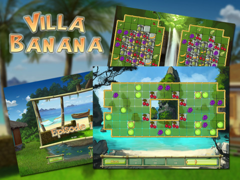 villa banana hd ipad game