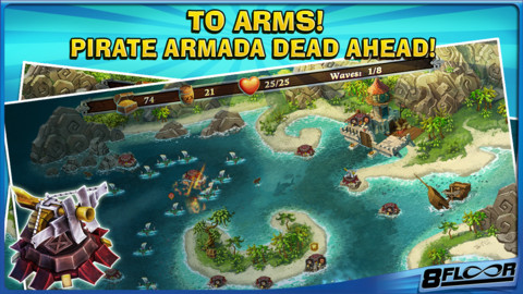 Fort Defense iPhone Game