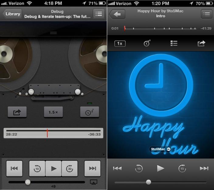 iPhone Podcast App