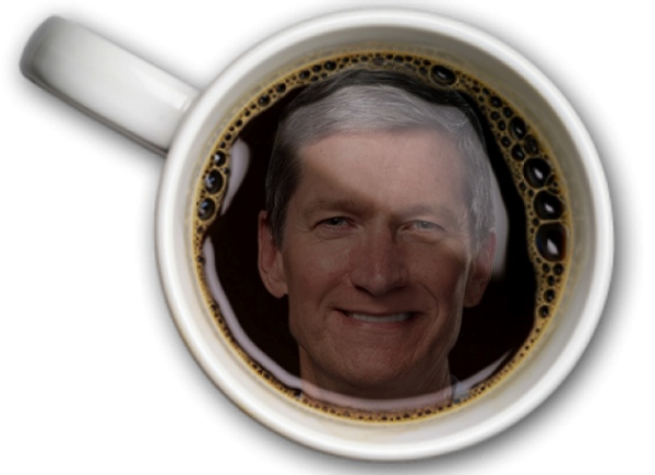 Coffee with Tim Cook? It Won't Be Cheap [u]