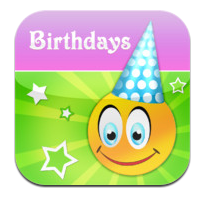 Birthday Calendar Pal iPhone App