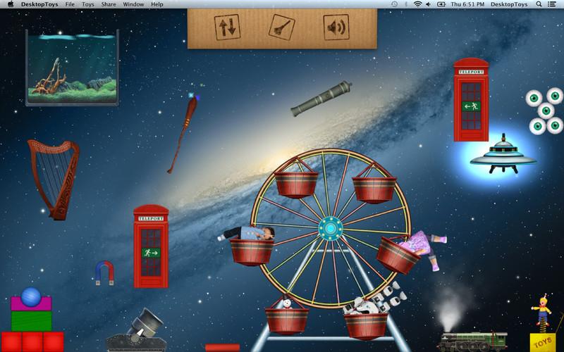 Desktop Toys Mac App