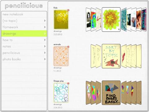 Pencilicious ipad app