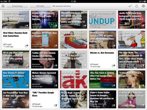 Erudito News Reader iPad App Review: A Google Reader Replacement?