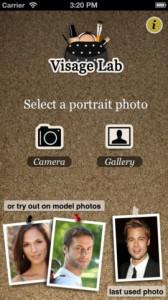 Visage Lab PRO iPhone App