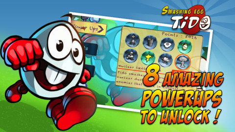 Smashing Egg Tido iPhone Game