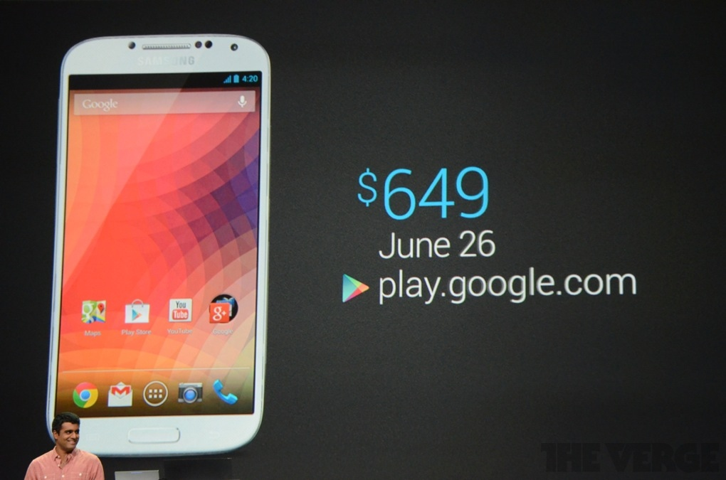 Nexus 5 revealed by Google as Samsung Galaxy S4 in disguise