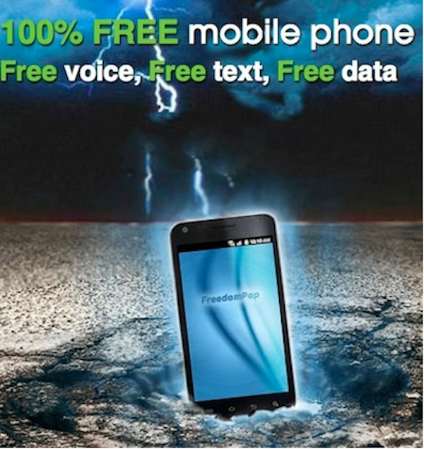 FreedomPop Now Offers a Free Voice, Text, and Data Plan