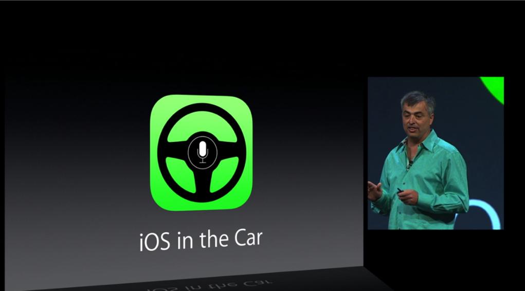 iOS 7 Brings iOS in the Car