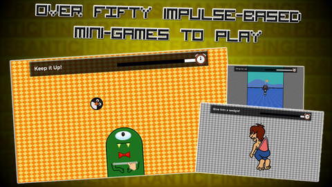Frantic Fingers! iPhone Game