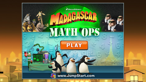 Madagascar Math Ops iPhone Game
