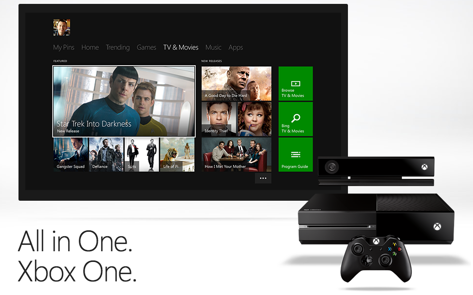 The Xbox One Further Fragments Television