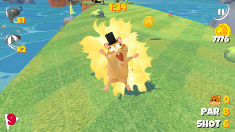 Boom Boom Hamster Golf iPhone Game