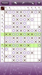 Conceptis Tic-Tac-Logic iPhone Game