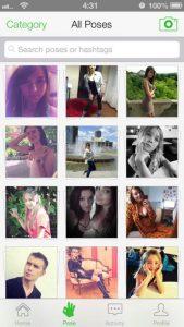 Posegram iPhone App