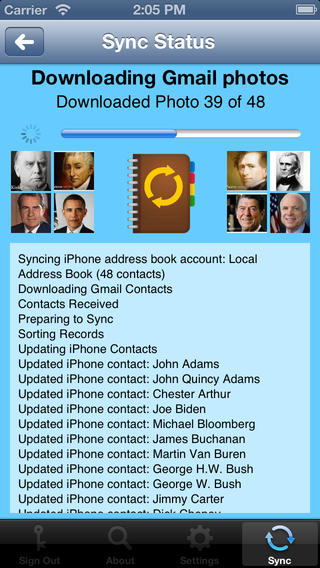 sync iphone contacts to gmail contacts sync for gmail iphone app review ah mazing 4728