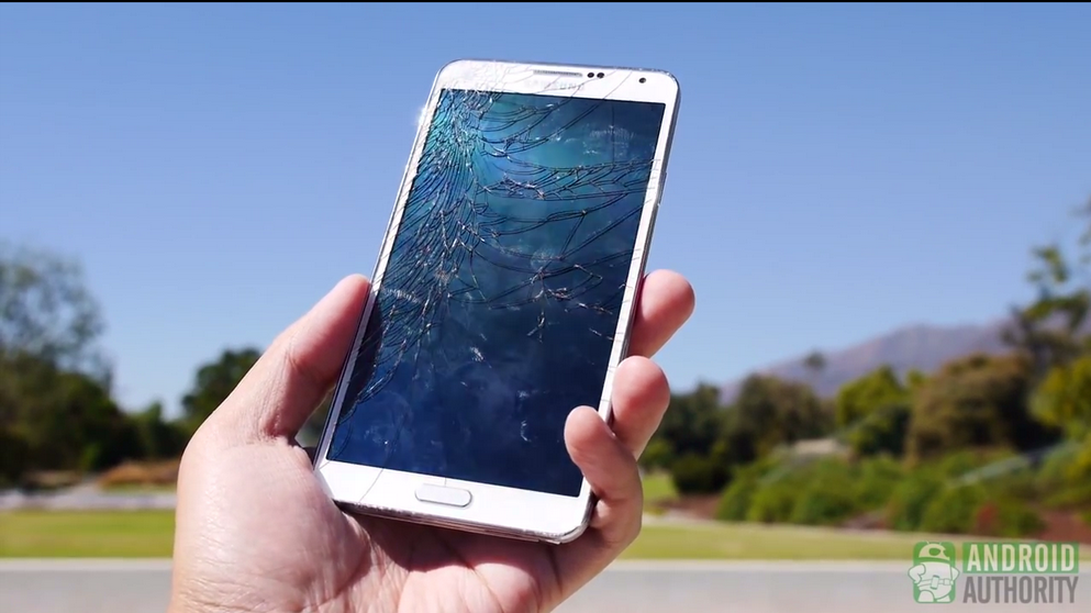 Galaxy Note 3 Face Drop Test