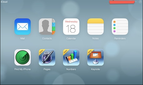 iCloud for iOS 7