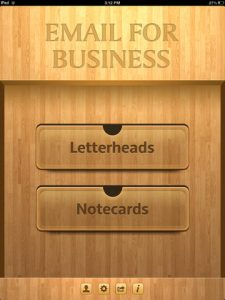 Email for Business iPad App