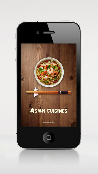 Asian Cuisines iPhone App
