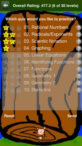 Middle School Math 8th Grade iPhone App