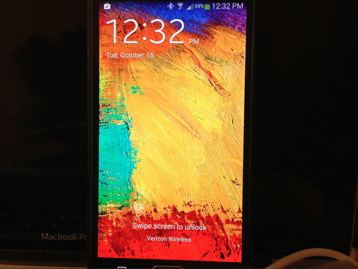 HTC One Max Competitor- Verizon Galaxy Note 3