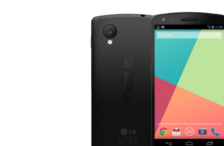 Nexus 5 appears in the Play Store for $349