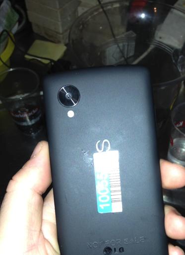 Nexus 5 bar sighting
