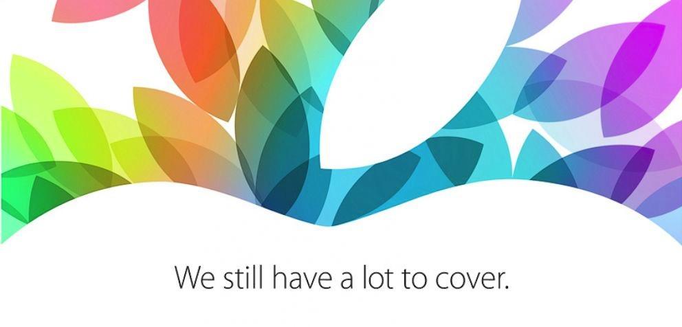 October 22 iPad Apple Event: It's Official [u]