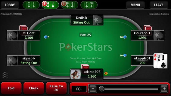 Star Poker Cash Games