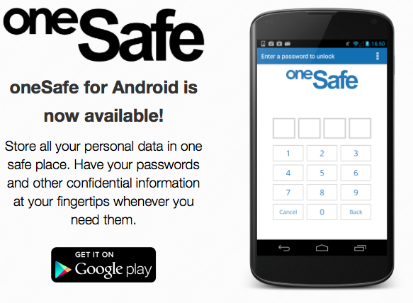 One Safe Password Manager Android App Review
