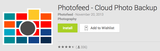 Photofeed Android App Review