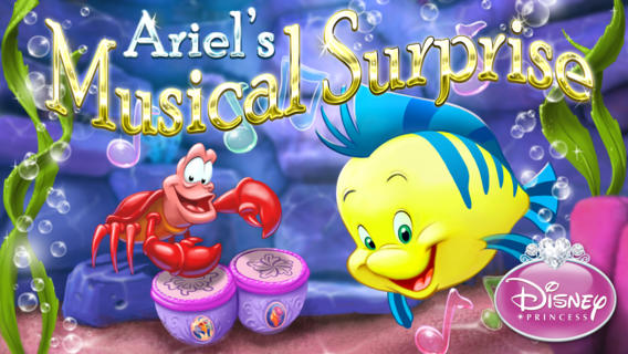 Ariel's Musical Surprise iPhone App
