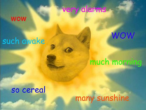 Doge Meme Sun