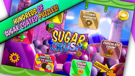 Sugar Crush iPhone Game