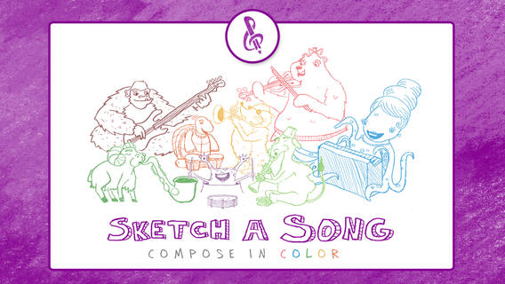Sketch-a-Song Kids iPhone App