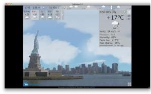 YoWindow Weather Mac App