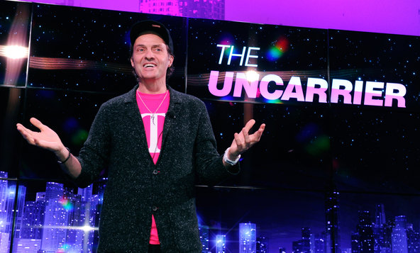 Before UnCarrier 4, T-Mobile CEO Crashes AT&T Event