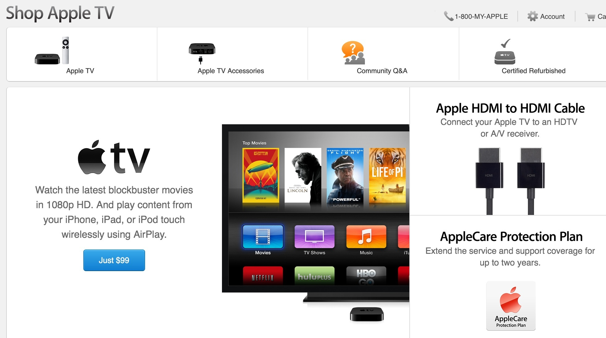 New Apple TV? Apple Store Upgrade Says, Yes