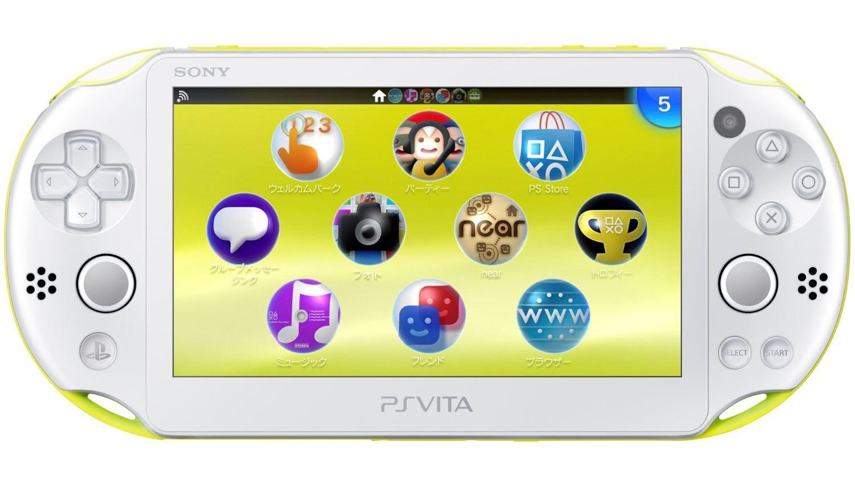 U.S. Playstation Vita Slim Release Date Coming Soon