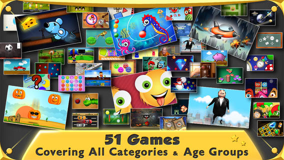 51 Games in 1 iPhone Game