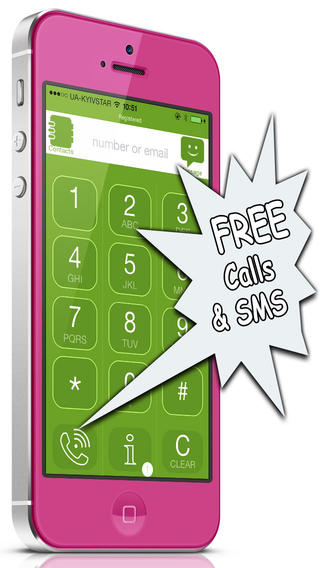CallsFreeCalls iPhone App