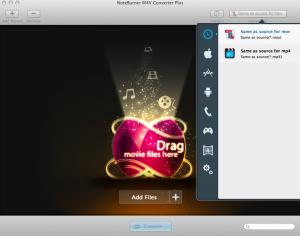 Noteburner M4V Converter Plus Mac App