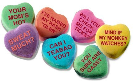 Valentines Day Candy Hearts