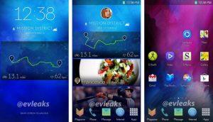 Samsung Galaxy S5 Interface