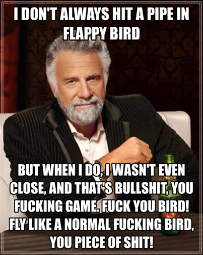 Flappy bird meme